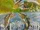 川の絵画コンクール富山河川国土交通省【銀賞】松田哲太(小4)