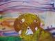 野田愛莉(5歳)『夕焼けのレッサーパンダ』